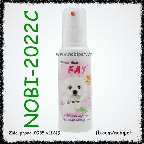 Fay Enchanter Rosely  Nước Hoa Cho Chó Mèo Hương Hoa Hồng Nobi-2022C