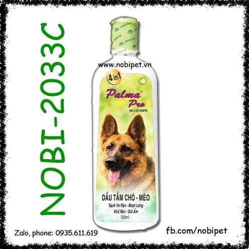 Fay Palma Pro 4 in 1 Sữa Tắm Chó Mèo Trị Ve Mượt Lông, Khử Mùi, Giữ Ẩm
