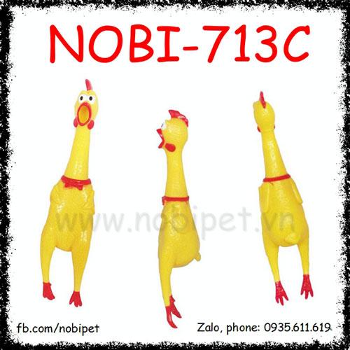Gà Nhựa Chicken Đồ Chơi Cho Chó Ngộ Nghĩnh Nobi-713C