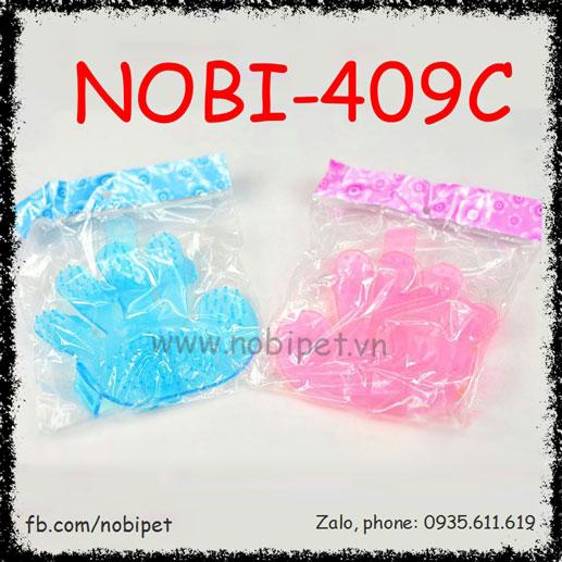 Găng Tay Su Fivespa Tắm Cho Chó Mèo Nobi-409C