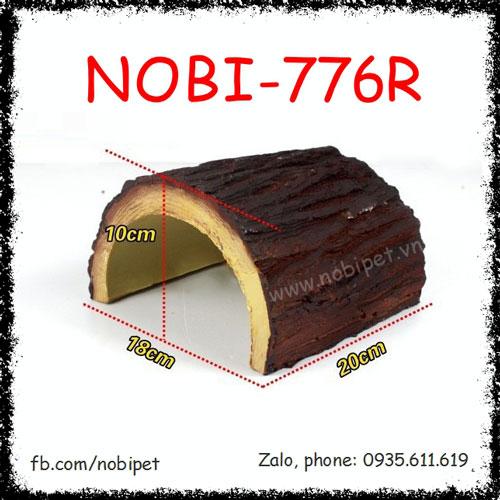 Hang Ngủ Mindo Mô Hình Thân Gỗ Thông Cho Rùa Bò Sát Nobi-776R