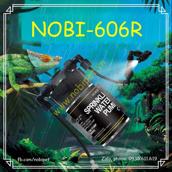 Hệ Thống Phun Sương Cho Tắc Kè Hoa Đổi Màu Chameleon Nobi-606R
