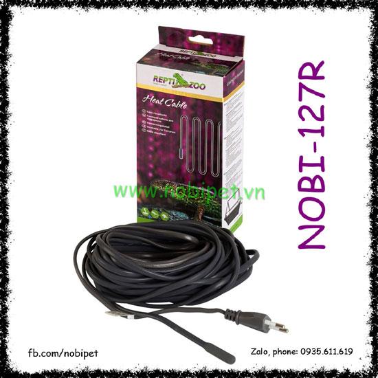 Heat Cable Dây Sưởi Silicone Cách Điện Cho Bò Sát Nobi-127R