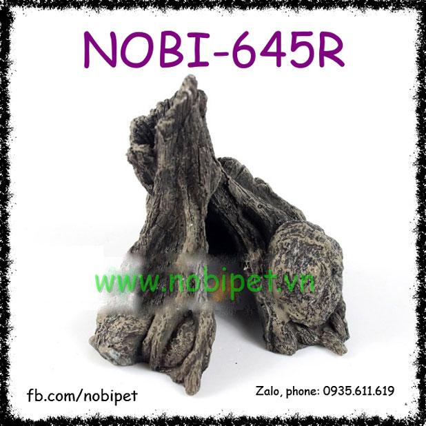 Hốc Cây Hóa Đá Phong Cảnh Trang Trí Chuồng Nuôi Bò Sát Nobi-645R