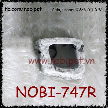Hốc Đá Đựng Nước Cẩm Thạch Cho Ếch Nhện Bò Sát Nobi-747R