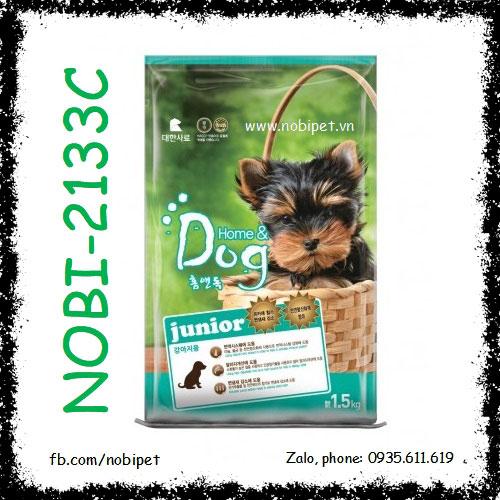 Home & Dog Junior 1.5kg Thức Ăn Cho Chó Con Dưới 12 Tháng Nobi-2133C