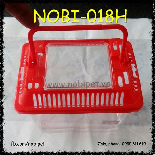 Hộp Đựng Kho Báu Size Nhỏ Mang Chuột Hamster Đi Chơi Nobi-018H