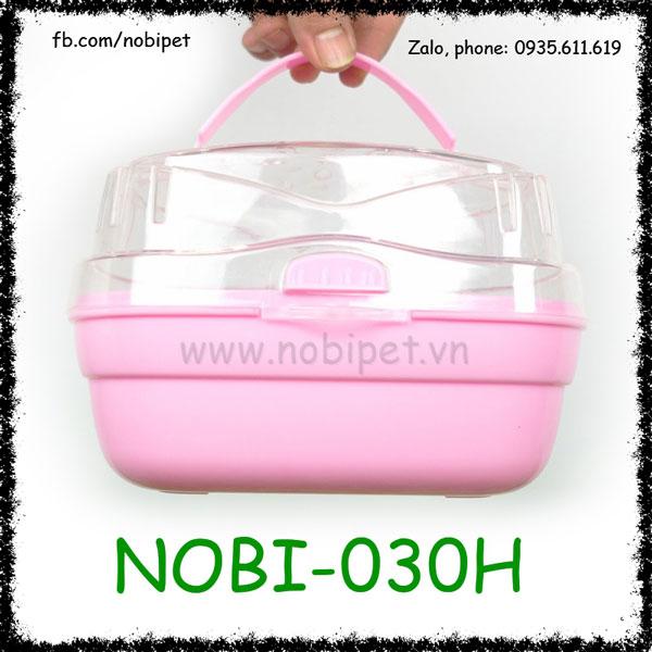 Hộp Nhựa Lenka Siêu Cute Mang Chuột Hamster Đi Chơi Nobi-030H