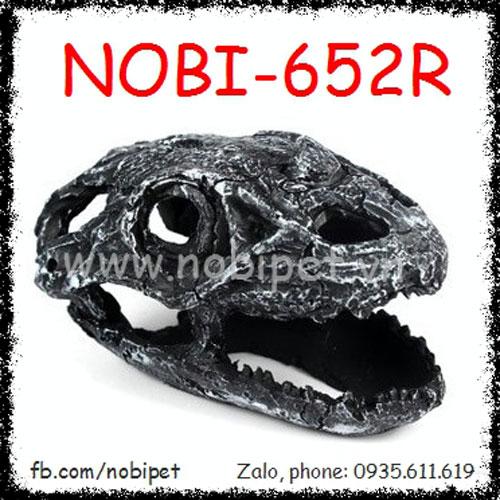 Hộp Sọ Khủng Long Raptor Trang Trí Chuồng Nuôi Bò Sát Nobi-652R