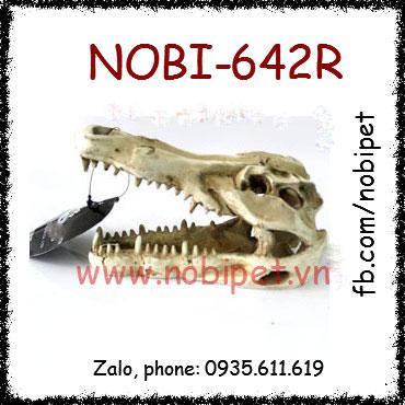Hộp  Sọ Nhựa Khủng Long Trang Trí Chuồng Nuôi Bò Sát Nobi-642R