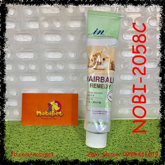 In-kat Hairball Remedy Điều Trị Tắc Búi Lông Cho Mèo NOBI-2058C