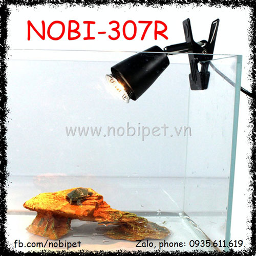Bộ Kẹp Và Chuôi Đèn Sứ Chịu Nhiệt Cho Sóc Cảnh Nobi-307R