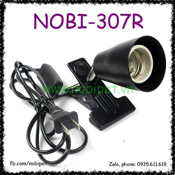 Kẹp Đèn Chuồng Nuôi Bò Sát Nomo Xoay 180 Độ Nobi-307R
