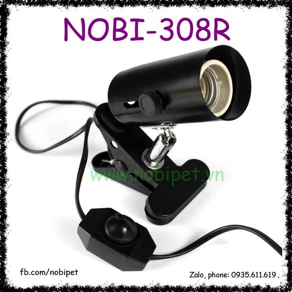 Kẹp Đèn Điều Chỉnh Dòng Điện Chuồng Nuôi Bò Sát Nomo Nobi-308R