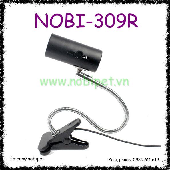 Kẹp Đèn Solo Thân Uốn Xoay 360 Độ Nomo Cho Bò Sát Nobi-309R