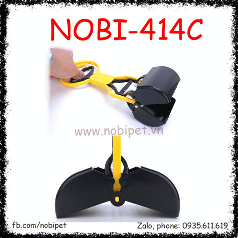 Kẹp Hốt Phân Izac Trợ Lực Cho Chó Mèo Nobi-414C