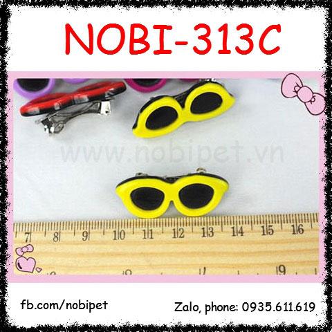Kẹp Tóc Rosy Hình Mắt Kính Thời Trang Cho Chó Nobi-313C