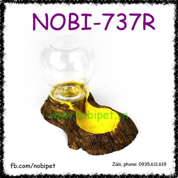 Khay Nước Tự Động Họa Tiết Khúc Cây Nuôi Bò Sát Nobi-737R