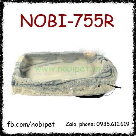 Khay Thức Ăn Jura Cẩm Thạch Cho Rồng Nam Mỹ Rùa Bò Sát Nobi-755R