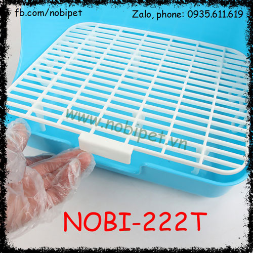 Khay Vệ Sinh Bunny Huấn Luyện Thỏ Bọ Đi Đúng Chỗ Nobi-222T
