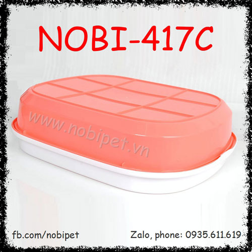Khay Vệ Sinh Candy Đựng Cát Cho Mèo Nobi-417C