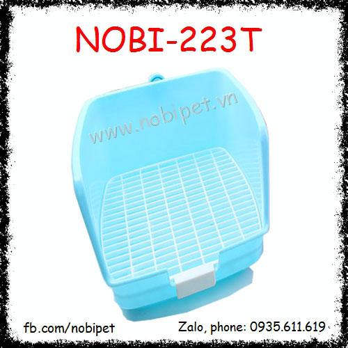 Khay Vệ Sinh Cano Hình Chữ Nhật Cho Thỏ Kiểng Bọ Ú Nobi-223T