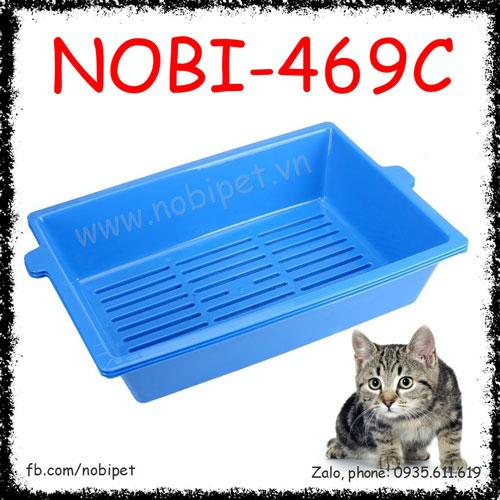 Khay Vệ Sinh Conec Có Ray Lọc Cho Mèo Nobi-469C