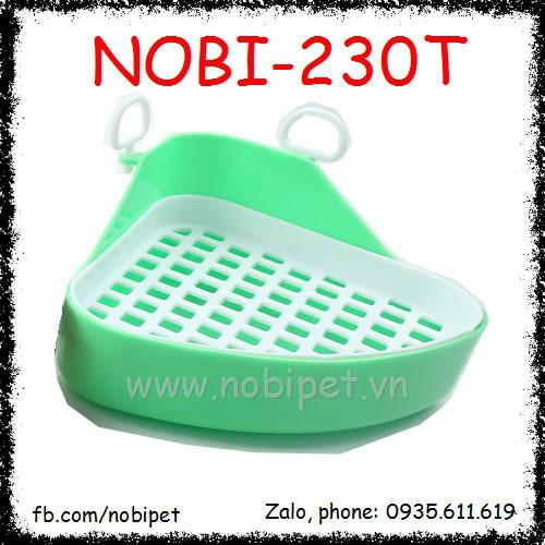 Khay Vệ Sinh Nhựa Tam Giác Đế Tháo rời Cho Kiểng Bọ Ú Nobi-230T