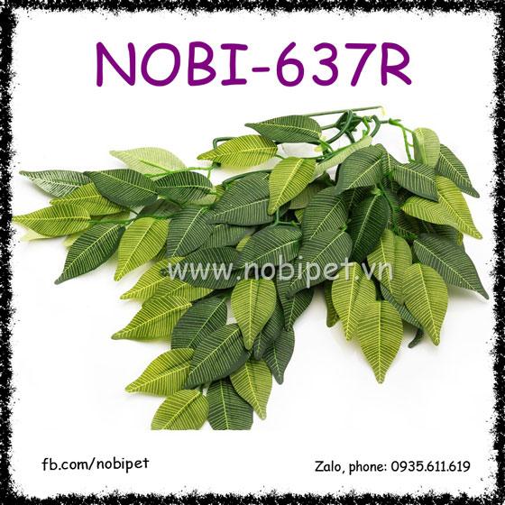 Lá Đa Mặt Nạ Banyan Trang Trí Chuồng Nuôi Bò Sát Nobi-637R