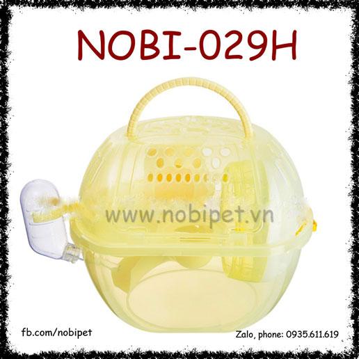 Lồng Apple Trong Suốt Xách Tay Đi Chơi Cho Chuột Hamster Nobi-029H