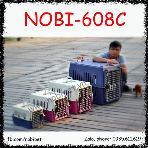 Lồng Hàng Không Airport Vận Chuyển Cho Chó Mèo Nobi-608C