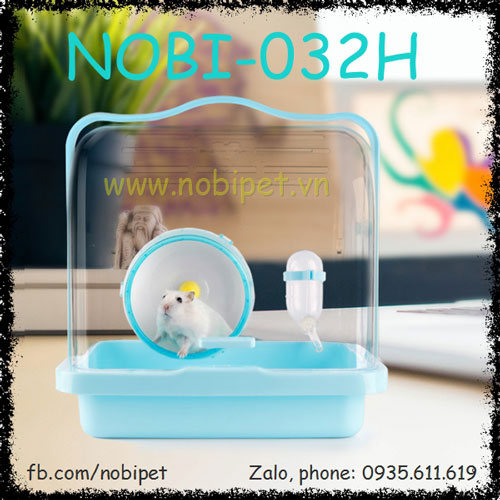 Lồng Homemax Hiện Đại Nuôi Chuột Hamster Nobi-032H