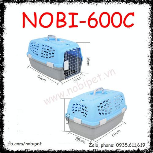 Lồng Vận Chuyển Venus Du Lịch Và Hàng Không Cho Chó Mèo Nobi-600C