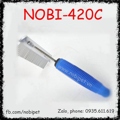 Lược Cào Halen Gỡ Rối Cho Chó Mèo Lông Dày Nobi-420C