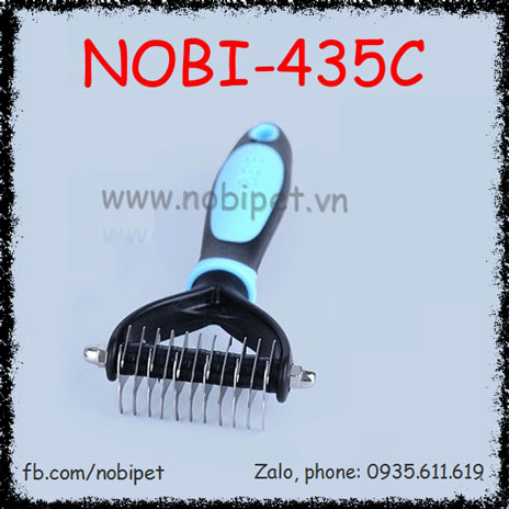 Lược Cào Lông Megatron Gỡ Rối Cho Chó Mèo Nobi-435C