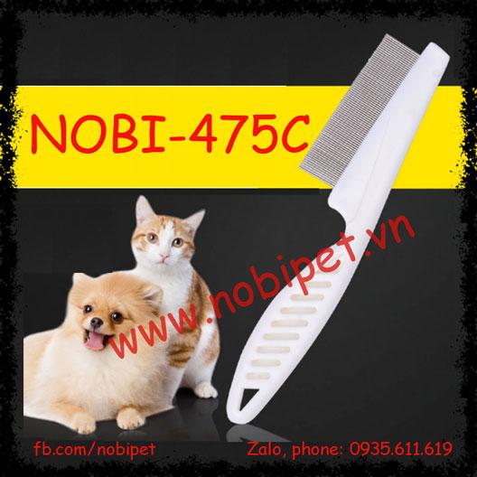 Lược Chải Bạch Mã cho Chó Mèo NOBI-475C