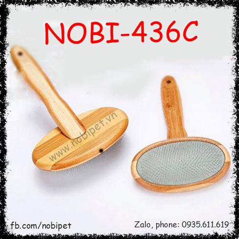 Lược Chải Lông Bamboo Làm Mượt Cho Chó Mèo Nobi-436C