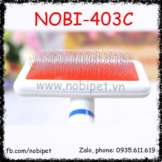 Lược Chải Lông Sushi Mượt Lông Cho Chó Mèo Nobi-403C
