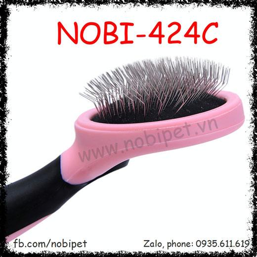 Lược Chải Zombo Mượt Lông Cho Chó Mèo Nobi-424C