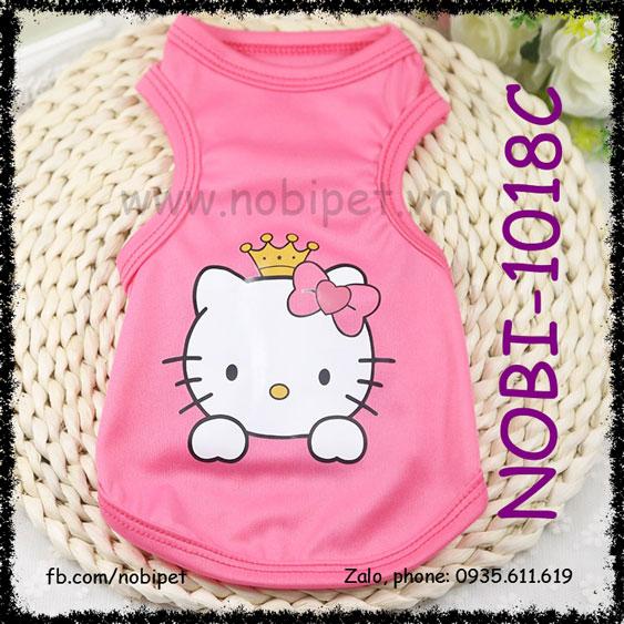 Áo Kitty Mùa Hè Thời Trang Dễ Thương Cho Sóc Bắc Mỹ Nobi-1018C