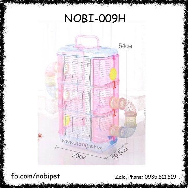 Chuồng Mica Pha Lê Đẹp Nuôi Chuột Hamster Nobi-009H