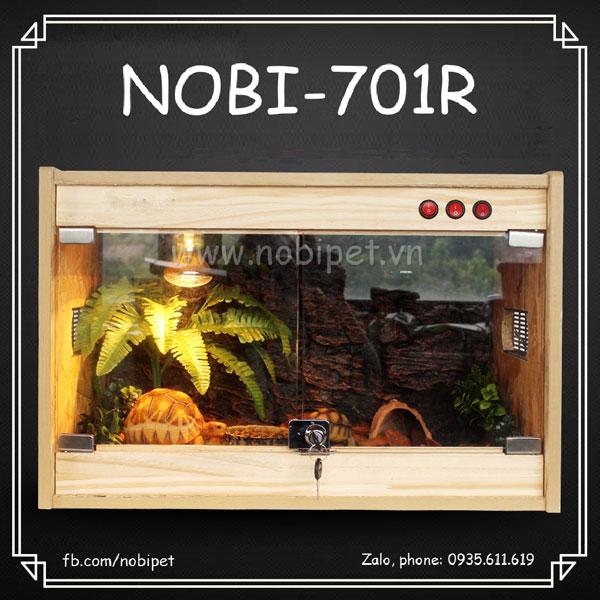 Chuồng Nuôi Gỗ America Mini Cửa Gương Cho Bò Sát Nobi-701R