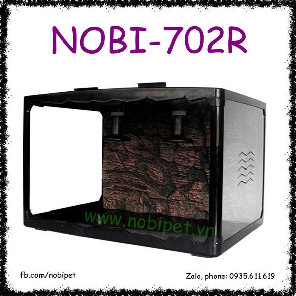 Chuồng Nuôi Poly Acrylic 3 Mặt Trong Suốt Cho Bò Sát Nobi-702R