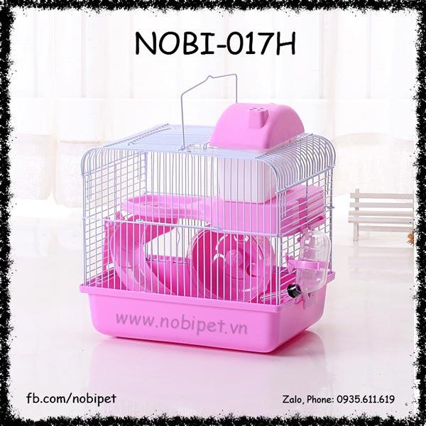 Lồng Nhà Ống Khói Trọn Bộ Phụ Kiện Cho Hamster Nobi-017H