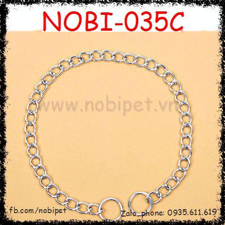 Vòng Cổ Inox Không Gỉ Tự Điều Chỉnh Thông Minh Cho Chó Nobi-035C