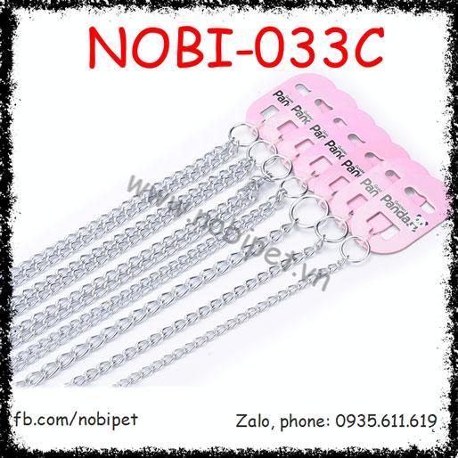 Vòng Đeo Cổ Inox Dây Đôi Hãng Panda Cho Nhiều Dòng Chó Nobi-033C