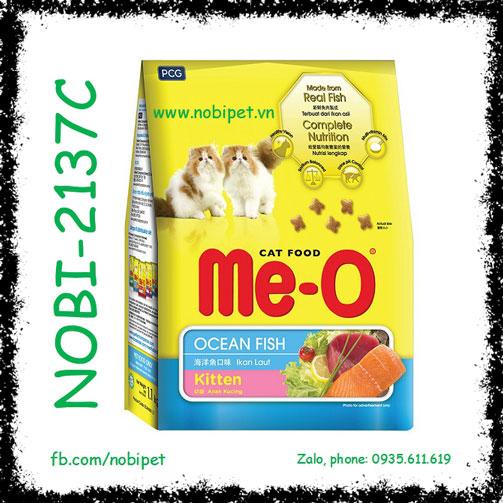 Me-O Ocean Fish Kitten 400gr Thức Ăn Cho Mèo Con Vị Hải Sản