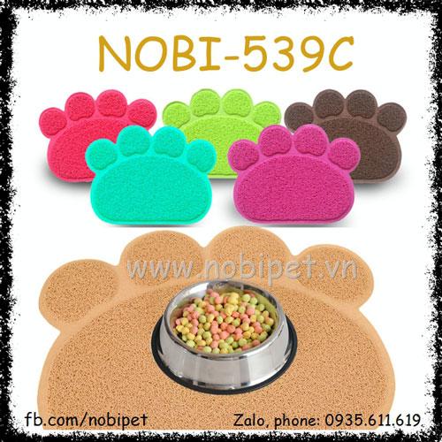 Miếng Lót Chén Ăn Đồ Dùng Nuôi Chó Mèo Nobi-539C