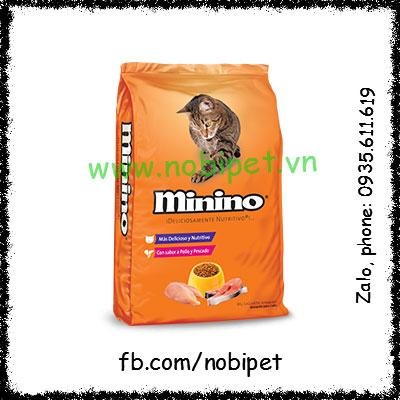 Minino Tuna 1.3Kg – Thức Ăn Cho Mèo Con Trưởng Thành Gói Lớn NOBI-107M