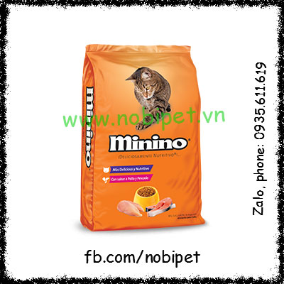 Minino Tuna 480gr Thức Ăn Chính Cho Nhím Kiểng Bổ Dưỡng NOBI-109M